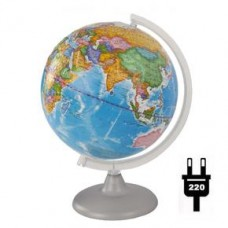 Глобус политический рельефный диаметр 250 мм с подсветкой