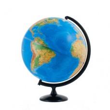 Глобус физический/политический диаметр 420 мм с подсветкой