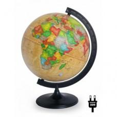 Глобус политический диаметр 420 мм Ретро-Александр с подсветкой