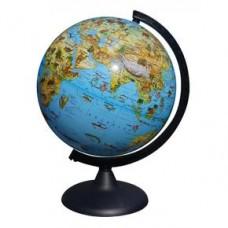 Глобус Зоогеографический диаметр 250 мм